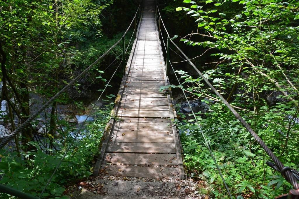 Bridge at Tolmin Gorge