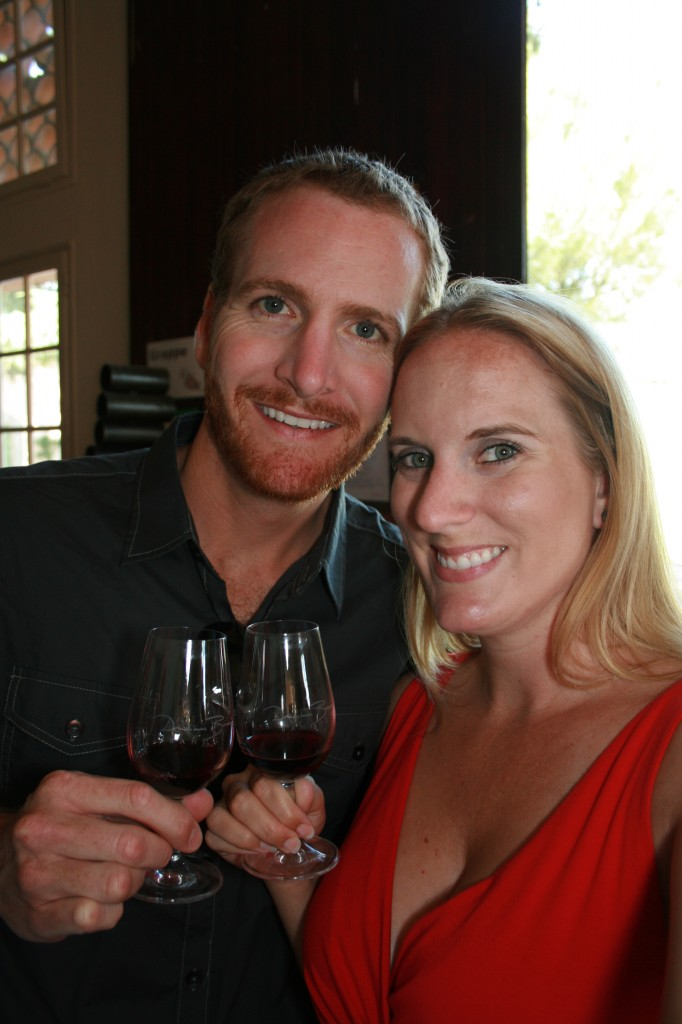 Forget Someday Travel Blog Couple wine tasting