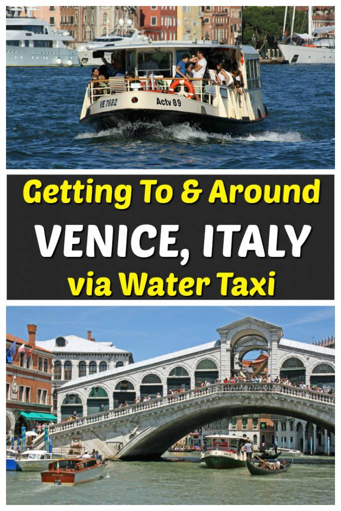 Get from Marco Polo airport to Venice via water taxi. Hire a private water taxi or share with others for a more affordable option. Water taxis in Venice are also a great way to get around town and explore the outlying islands of Murano and Burano. #venice #veniceitaly #venicetransport #watertaxi #venicewatertaxi #thingstodovenice #venicetransportation #venicetravel