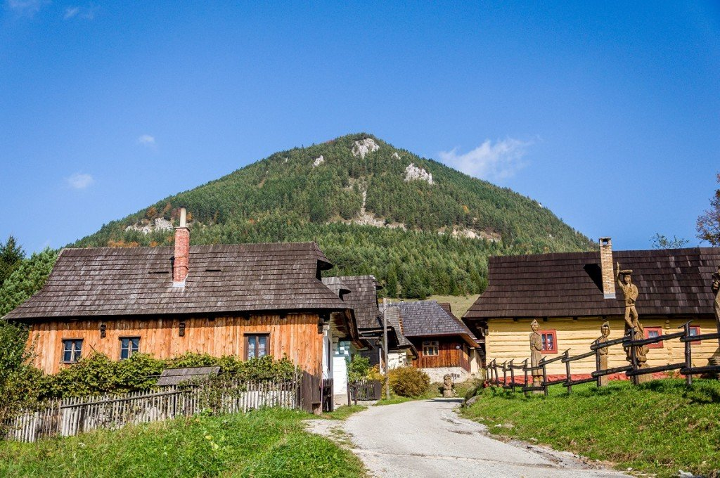 Vlkolinec Small Towns