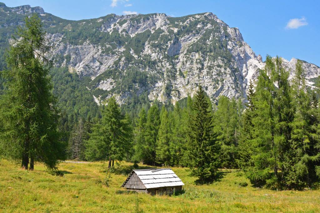 Mountain Hut - Julian Alps - Vrsic Pass