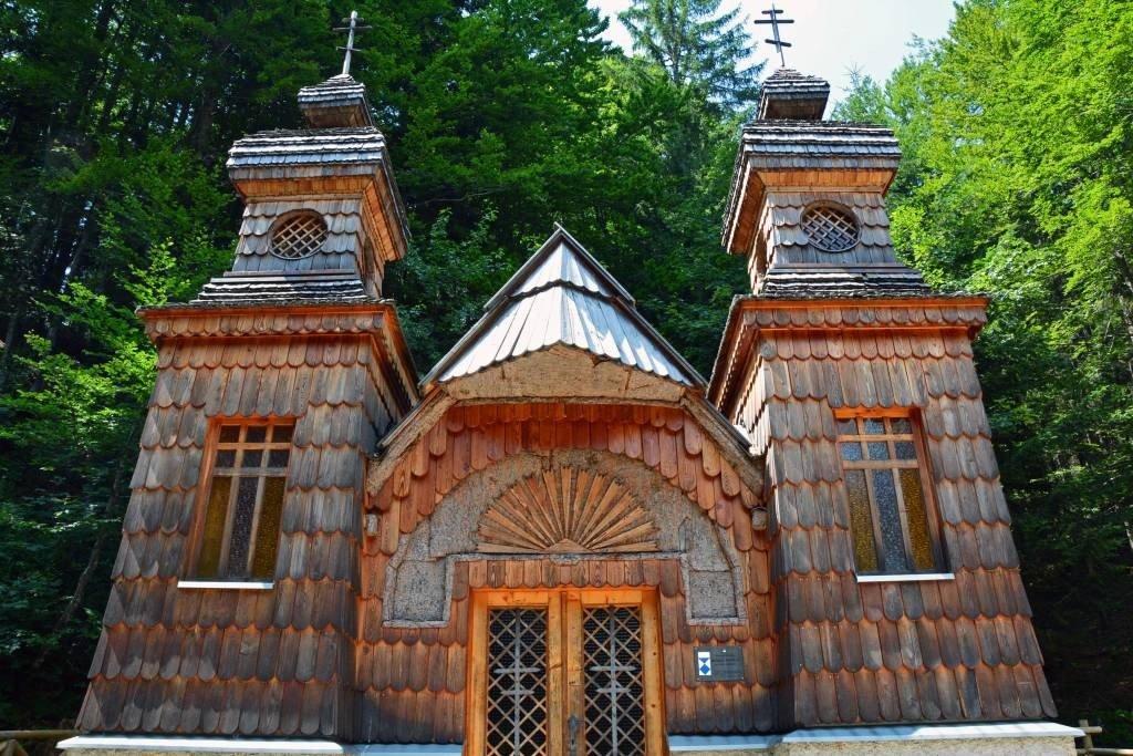 Russian Chapel - Vrsic Pass