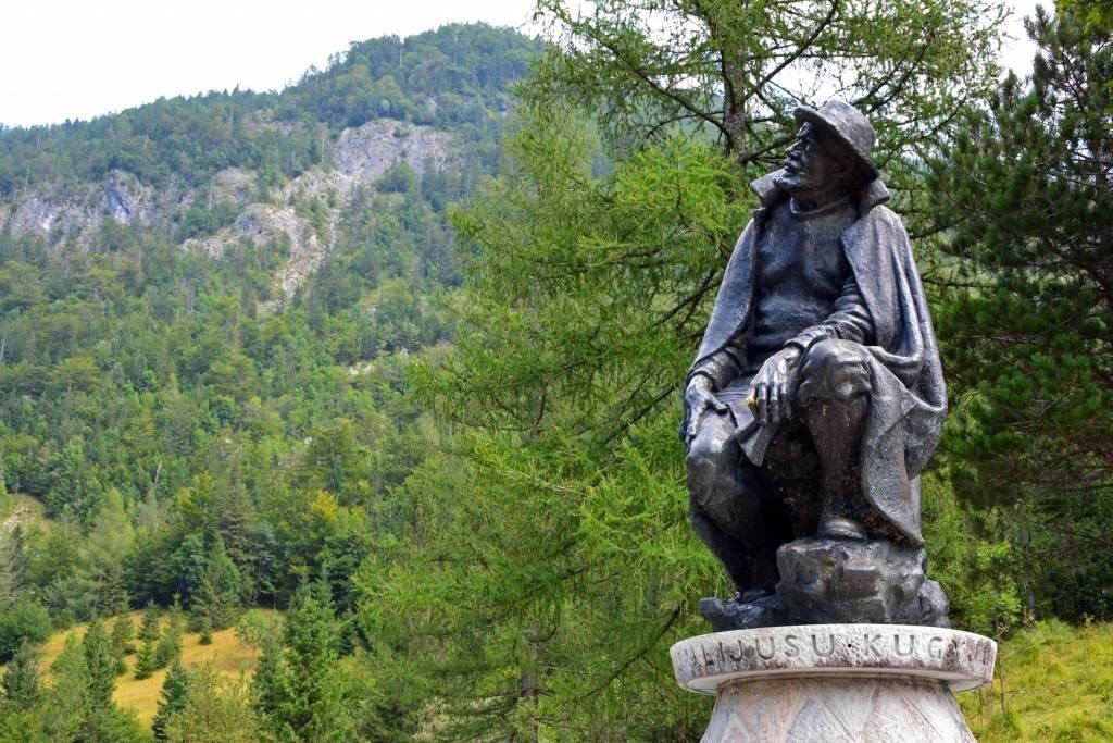 Statue of Julius Kugy - Vrsic Pass