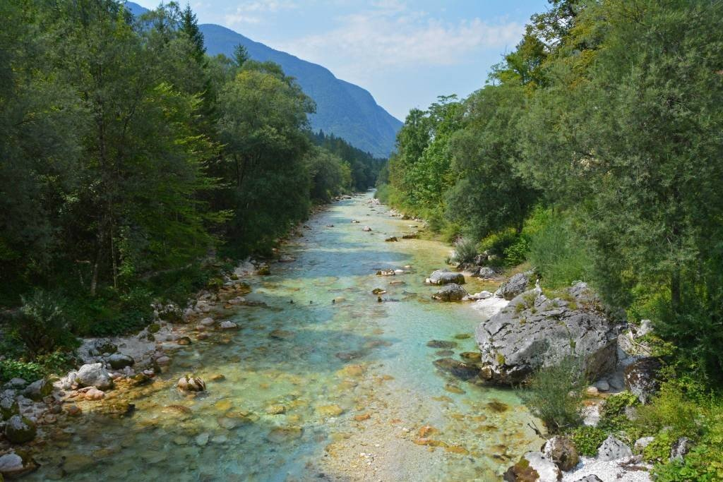 Soca River in Bovec