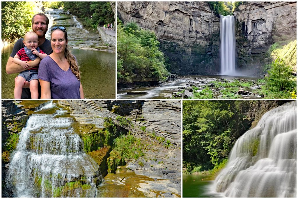 waterfalls near Cayuga Lake