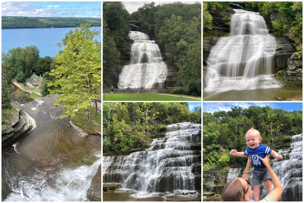 Seneca Lake Waterfalls