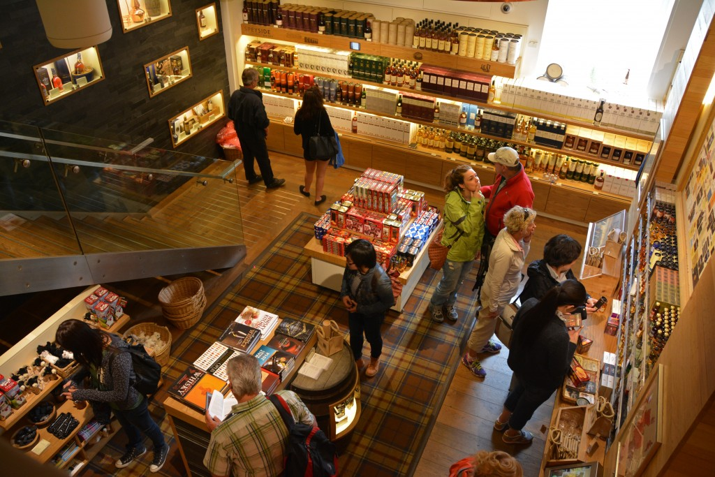 Scotch Whisky Experience shop