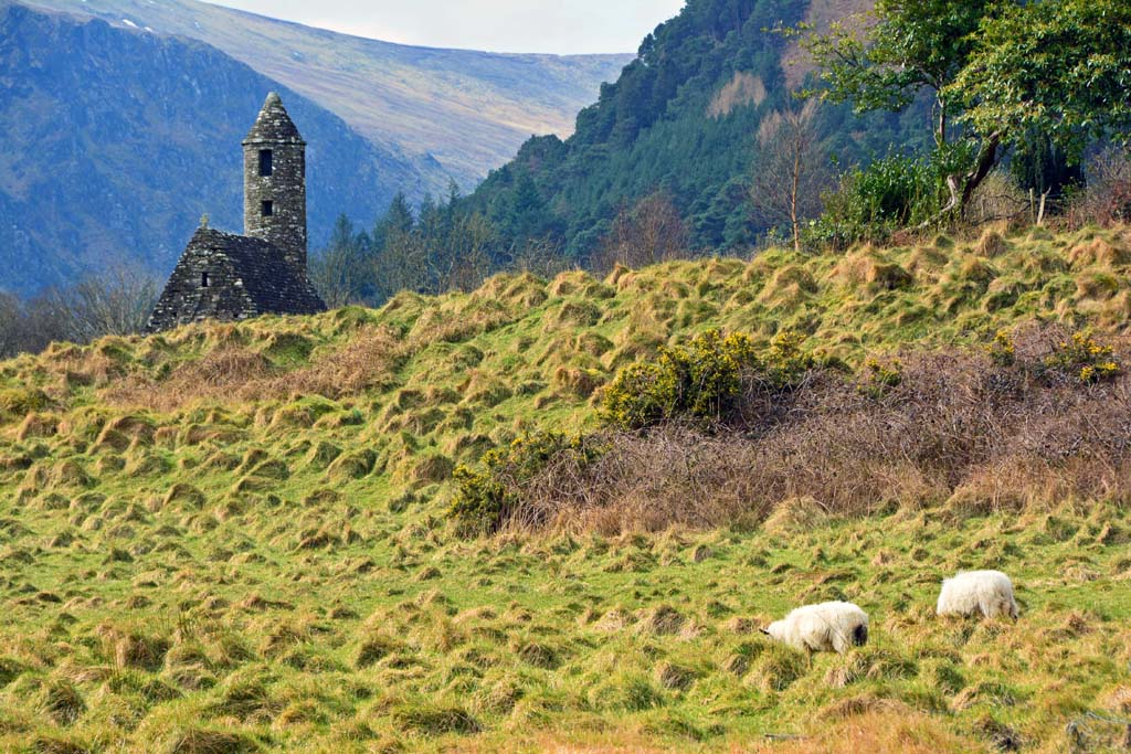 Glendalough in Wicklow National Park