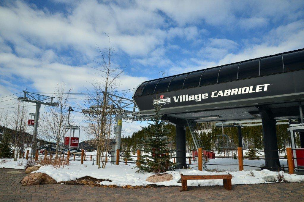 The Village cabriolet Winter Park Colorado